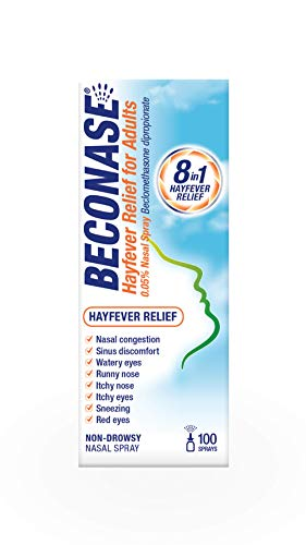 Beconase Hayfever Relief Nasal Spray 100 Sprays from Beconase