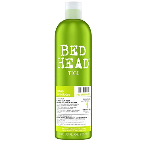 Bed Head Urban Antidotes Re-energize™ Daily Conditioner for Normal 750 ml from BED HEAD by TIGI