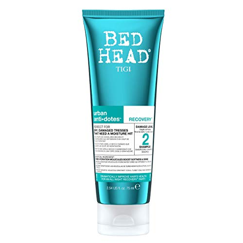 BED HEAD by TIGI Urban Antidotes Recovery Moisturising Shampoo for Dry, Damaged Hair Mini 75ml from BED HEAD by TIGI