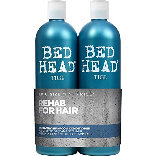Bed Head by Tigi Urban Antidotes Recovery Moisture Shampoo and Conditioner, 750 ml, Pack of 2 from TIGI Bed Head