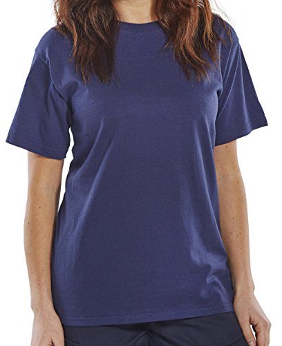 CLICK HEAVY WEIGHT TEE SHIRT NAVY BLUE M from Beeswift