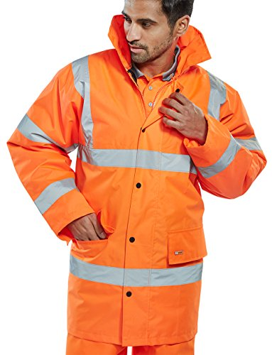 CONSTRUCTOR JACKETS ORANGE XL from Beeswift