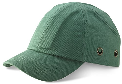 SAFETY BASEBALL CAP GREEN from Beeswift