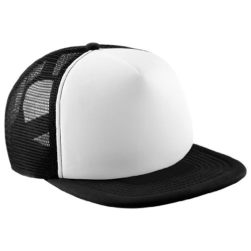 Beechfield - Cap with Flat Peak - for Men Multi-Coloured Black/White Size:One Size from Beechfield