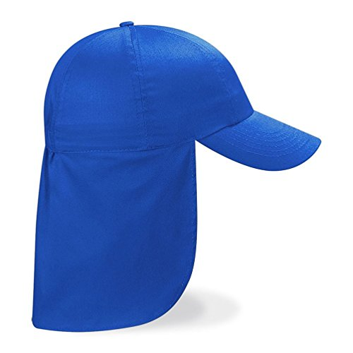 CHILDRENS LEGIONNAIRE HAT CAP 100% COTTON - 9 COLOURS (ROYAL BLUE) from Beechfield