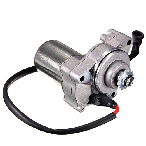 Beehive Filter - 3-Bolt Electric Starter Motor for 50cc, 70cc, 90cc or 110cc 4-Stroke Quad Bikes, ATVs and Pit Bikes from Beehive Filter