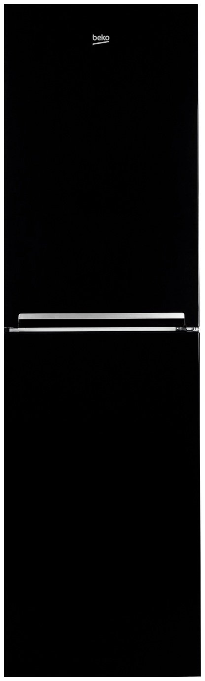 Beko - CFG1582B - Fridge Freezer - Black from Beko