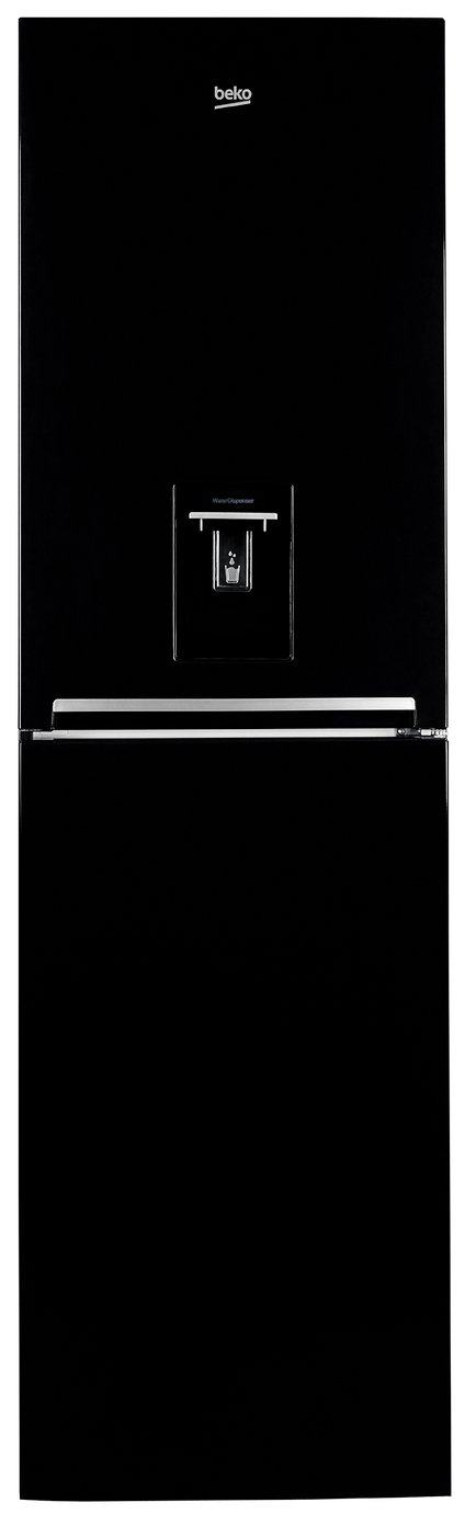 Beko - CFG1582DB - Fridge Freezer - Black from Beko