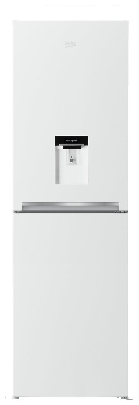 Beko - CFG1582DW - Fridge Freezer - White from Beko