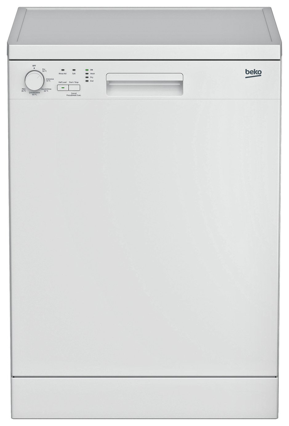 Beko DFN05310W Full Size Dishwasher - White from Beko
