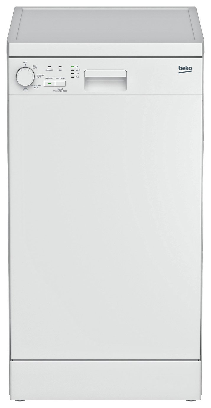 Beko DFS04010W Slimline Dishwasher - White from Beko