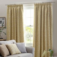 Sienna Ready Made Curtains Ochre from Belfields Ready Made Curtains