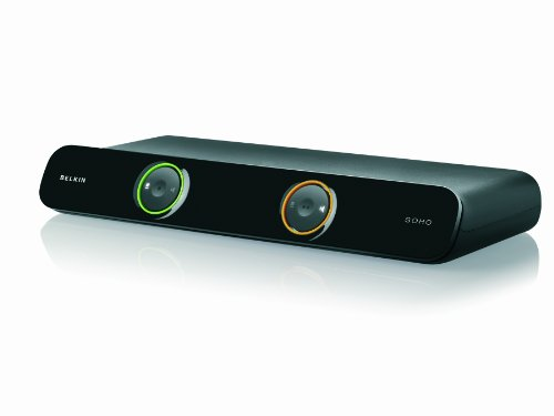 Belkin F1DS102Lea SOHO Series 2-Port USB/VGA KVM Switch with Audio and Built-In USB Hub, Cables Included from Belkin