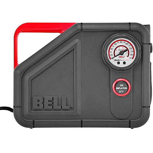Bell Aire SS5094 Tyre Inflator with Programmable Pressure Gauge with Auto Shut-Off, 1000 - black from Bell Aire