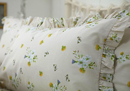 Belledorm Bluebell Meadow Oxford Pillowcases, Country Dream Bedlinen Collection (Oxford) from Belledorm