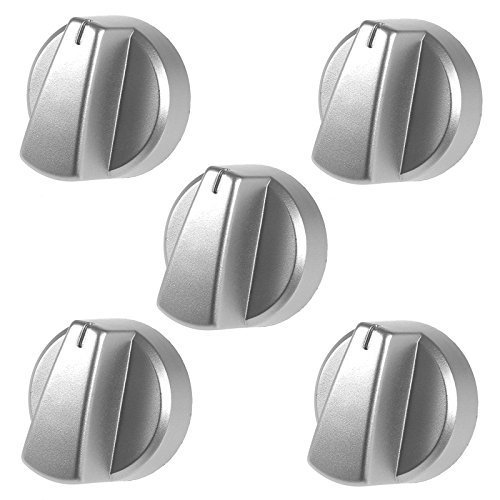 Genuine Belling Silver Oven / Cooker Control Knob (Pack of 5) from Belling
