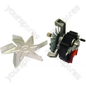 Stoves Oven Circulation Fan Motor Assembly from Belling