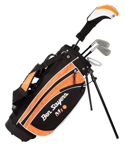Ben Sayers Right-Handed M1i Junior Package Set with Stand Bag - Orange - 9-11 years from Ben Sayers