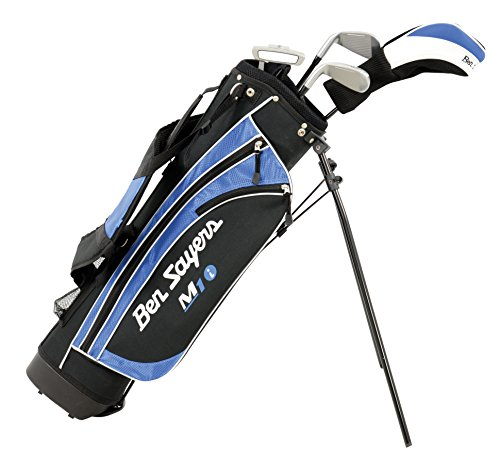 Ben Sayers Right-Handed M1i Junior Package Set with Stand Bag - Blue - 5-8 years from Ben Sayers