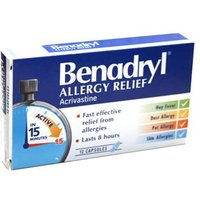 Benadryl Allergy Relief (12) from Benadryl