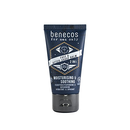 Benecos Face and Aftershave Cream 2In1 for Men 50ml 1 Unit 250g from benecos