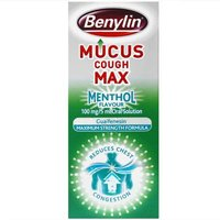 Benylin Mucus Cough Menthol 150ml from Benylin