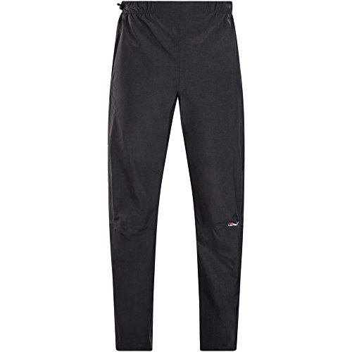 Berghaus Women's Hillwalker Waterproof Trousers, Black, 10 (27.5 inches)/Long (33 inches) (S) from Berghaus
