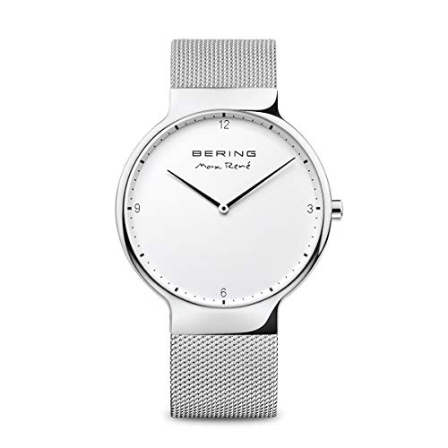 BERING Unisex Adult Analogue Quartz Watch with Stainless Steel Strap 15540-004 from BERING