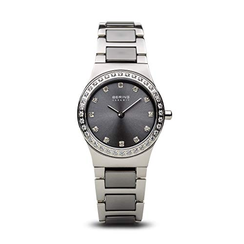 BERING Women's Analogue Quartz Watch with Stainless Steel Strap 32426-703 from BERING