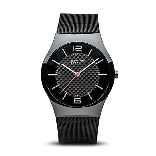 BERING Men's Analogue Quartz Watch with Stainless Steel Strap 32039-449 from BERING