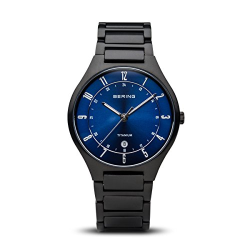 Bering Time Men's Watch XL Analogue Quartz Titanium 11739 727 from BERING