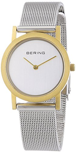 Bering Time Women's 13427-010 Quartz Watch with Silver Dial Analogue Display and Silver Stainless Steel Bracelet from BERING