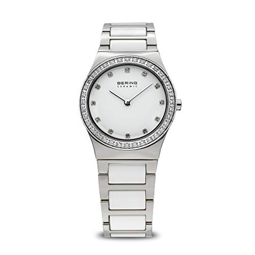 Bering Time Women's Ceramic Watch XS Analogue Quartz Various Materials 32430 754 from BERING