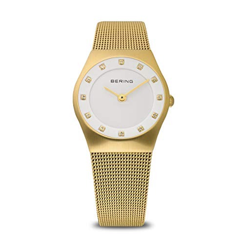 BERING Womens Analogue Quartz Watch with Stainless Steel Strap 11927-334 from BERING