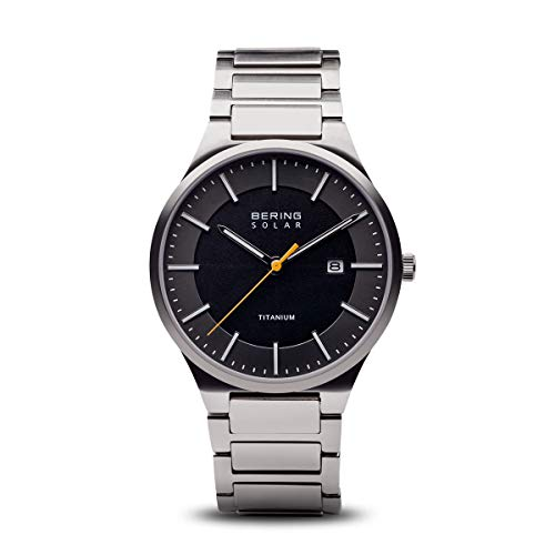 BERING Men's Analogue Quartz Watch with Titanium Strap 15239-779 from BERING