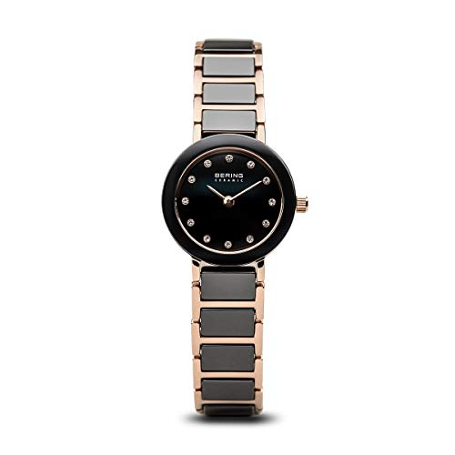Bering Women's Quartz Watch Ceramic 11422-746 with Metal Strap from BERING