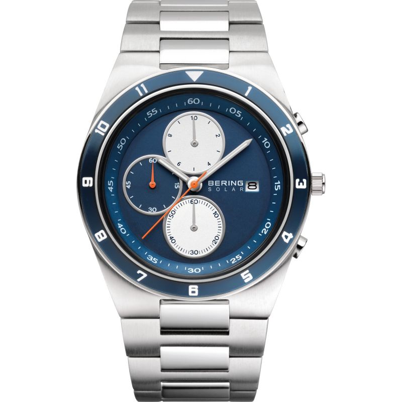 Mens Bering Chronograph Solar Powered Watch from Bering