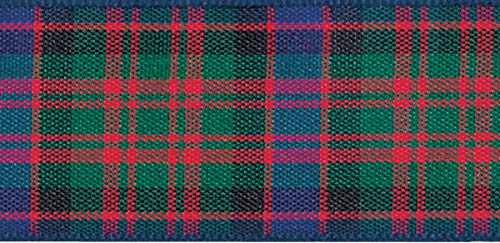 10mm Wide Macdonald Tartan Per Metre from Berisfords