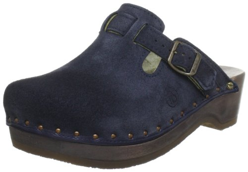 Berkemann Unisex - Adult Riemen-Toeffler Clogs Blue Blau (blau 396) 10 UK (44.5 EU) from Berkemann