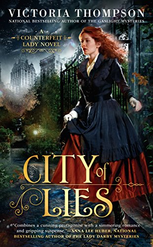 City of Lies Counterfeit Lady #1 (Counterfeit Lady Novel) from Berkley - Us