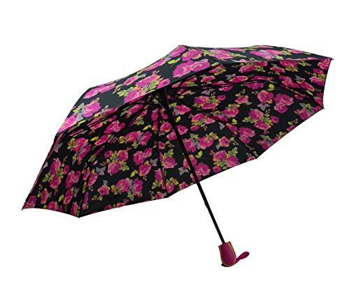 Umbrella with Automatic Opening, Strong & Durable. for Ladies (ROSE3621A) from Bermoni