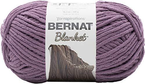 BERNAT Blanket, Polyester, Shadow Purple, 300g from Bernat