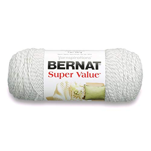 BERNAT Super Value Solid Yarn, Multi-Colour, 3 Units from Bernat
