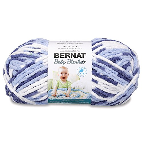 Bernat Baby Blanket, Blue Dreams, 300 g from Bernat