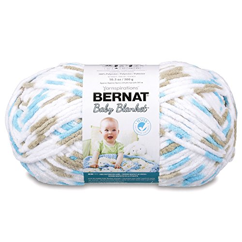 Bernat Baby Blanket 300g - Little Teal Dove 161104-4735 from Bernat