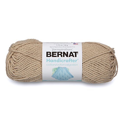 Bernat Handicrafter Cotton Yarn, Solid, 1.7 Ounce, Jute, Single Ball from Bernat