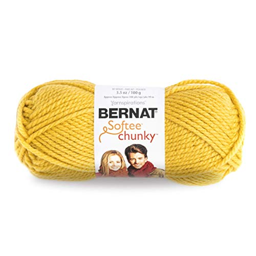 BERNAT SOFTEE CHUNKY -100G- GLOWING GOLD from Bernat