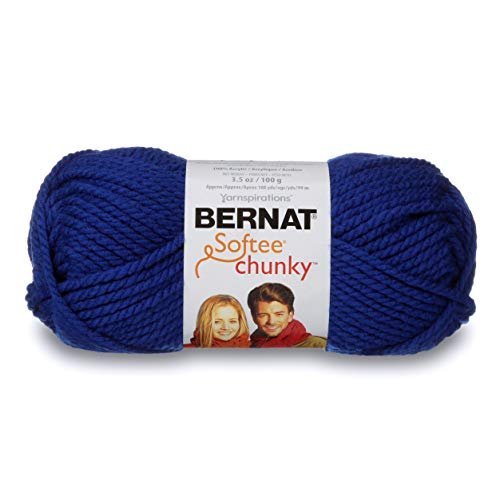 BERNAT SOFTEE CHUNKY -100G- ROYAL BLUE from Bernat
