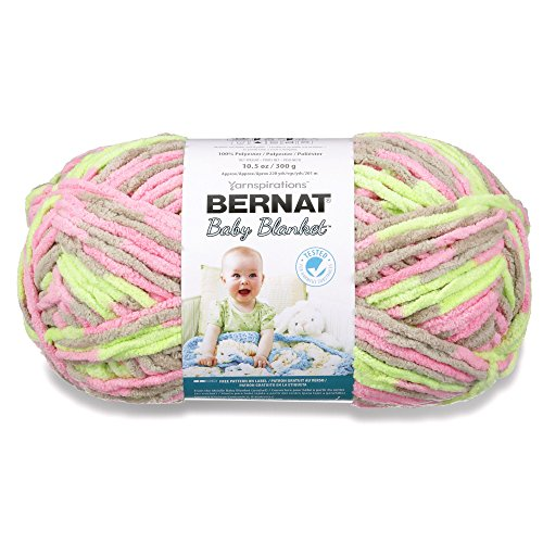 Bernat Baby Blanket 300g - Little Girl Dove from Bernat