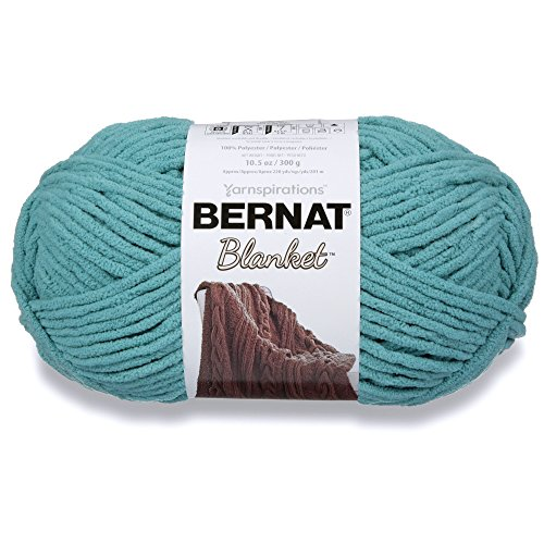 Bernat Blanket Yarn, 300 grs/ 10.5 oz, Light Teal from Bernat